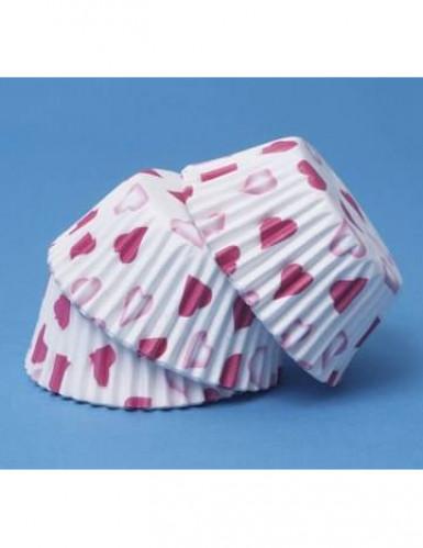 60 moules à cupcake petits cœurs