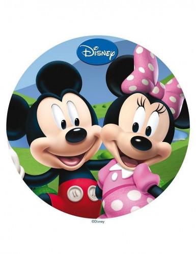 Disque azyme 20 cm  Mickey & Minnie™