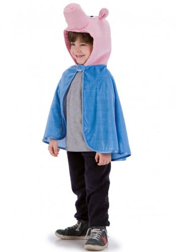 Cape cochon bleu enfant