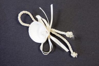2 Ronds de serviettes coquillages Marin