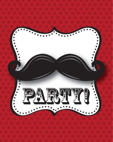 Maxi Pack anniversaire Moustache-9