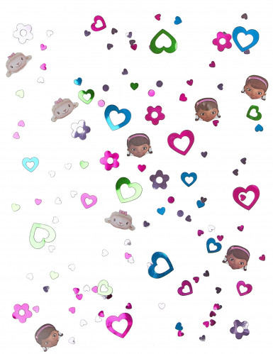 Confettis de table Docteur la peluche™-1