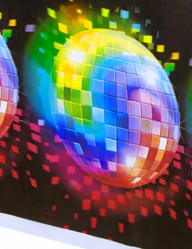 Nappe plastique Disco Boule à facettes -1