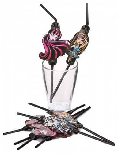 8 pailles Monster High 2™-1