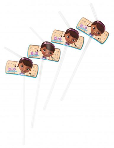 6 Pailles Docteur la peluche™