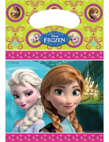 6 Sacs de fête la Reine des neiges™