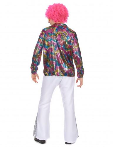 Chemise disco homme multicolore-2