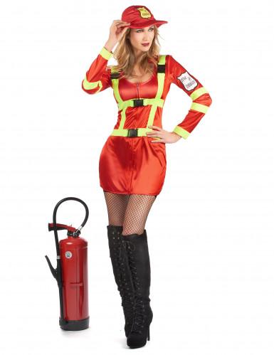 Déguisement pompier femme-1