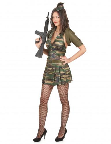 Déguisement militaire femme-1