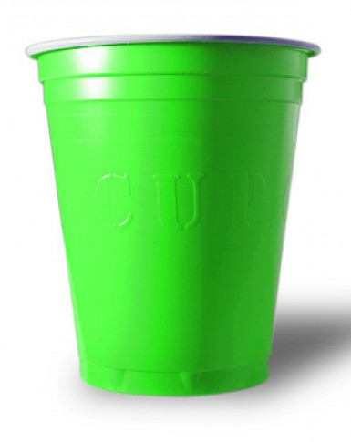 20 Gobelets Américains Original Cup vert 53 cl