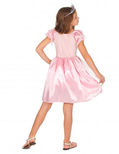 Déguisement princesse rose fille-2