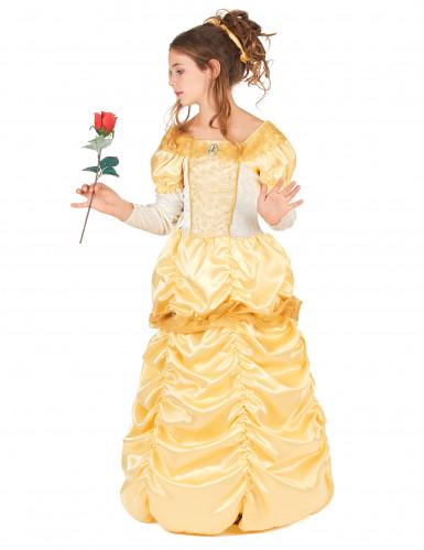 Déguisement princesse beauté fille-1