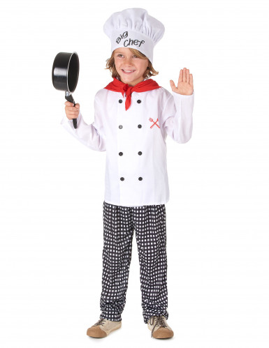 Déguisement chef cuisinier garçon-1
