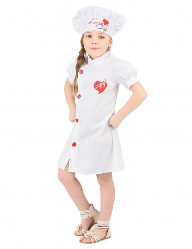 Déguisement chef cuisinier fille-1