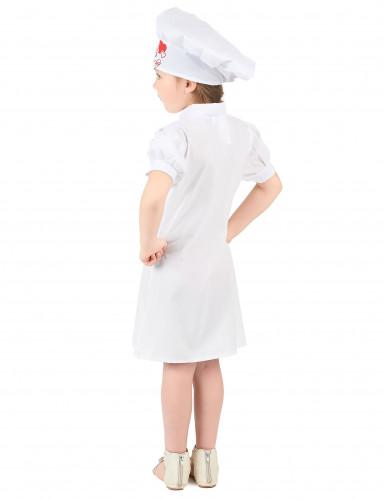 Déguisement chef cuisinier fille-2