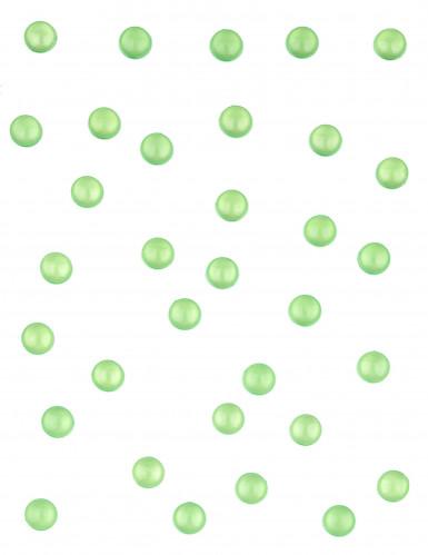 Perles de table vertes 60 grammes-1