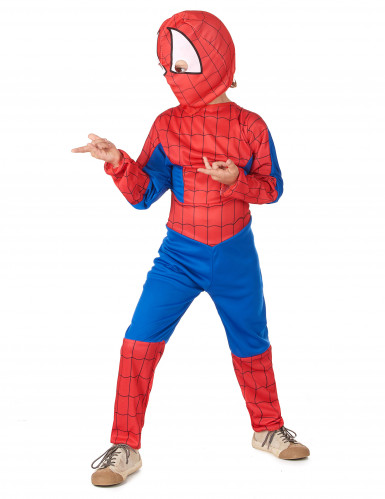 Déguisement homme araignée garçon-1