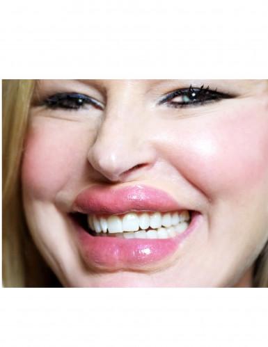 Grosses lèvres transfert à l'eau