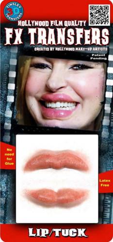 Grosses lèvres transfert à l'eau Premium-1