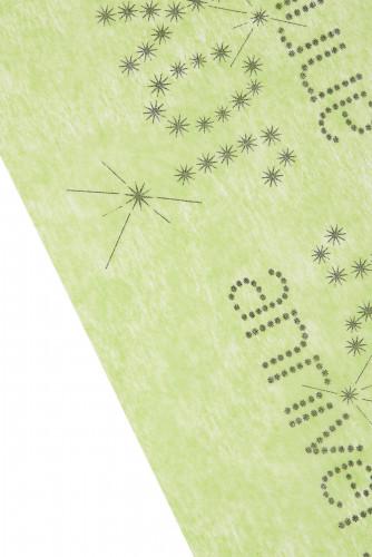 Chemin de table vert Anniversaire Chic 5 m-1