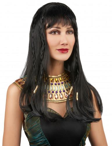 Perruque reine d'Egype femme