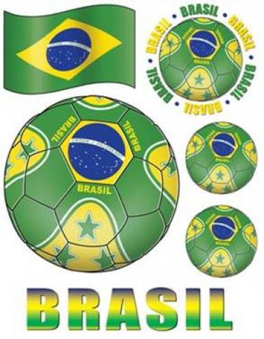 Autocollants pour fenêtres Brésil