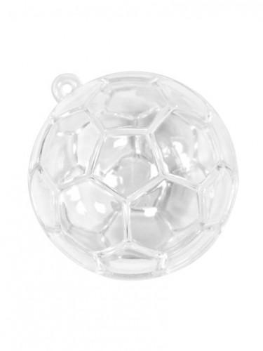 3 Contenants ballons de foot transparents