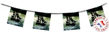 Guirlande bateau de Pirate ignifugé 4 mètres