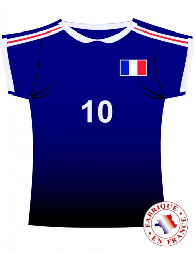 Cut out maillot France