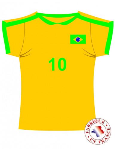 Décoration murale maillot du Brésil