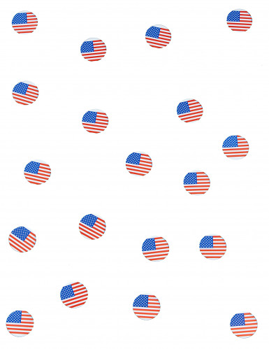150 confettis de table drapeau USA-1