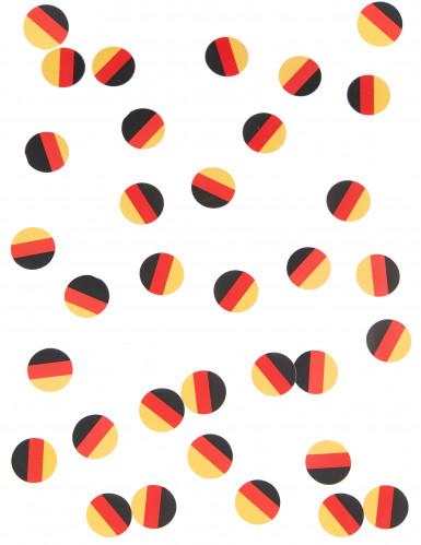 150 confettis de table drapeau Allemagne-1
