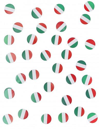 150 Confettis de table drapeau Italie-1