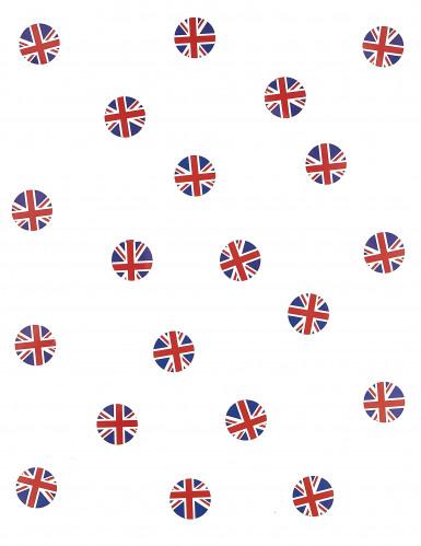150 confettis de table drapeau Grande Bretagne-1