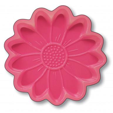 Plateau fleur rose