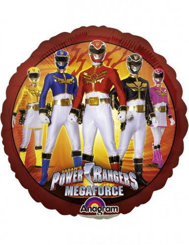 Ballon aluminium Power Rangers™ 23 cm