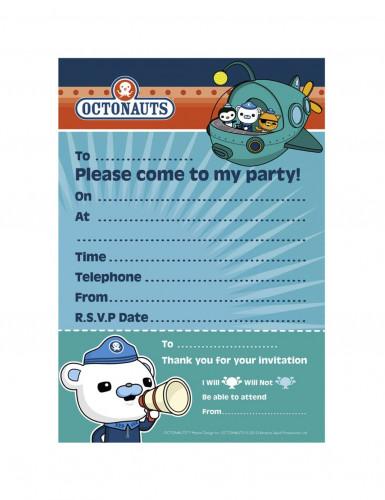 20 Invitations + enveloppes Octonaut™
