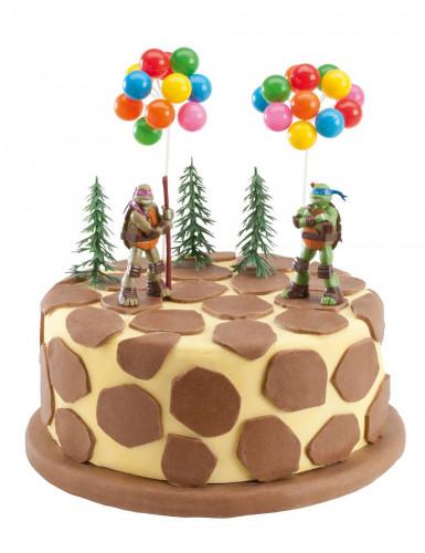 Kit de décorations gâteaux Tortues Ninja™-1