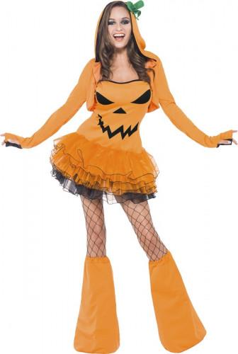 Déguisement citrouille sexy femme Halloween
