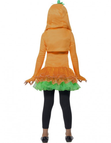 Déguisement citrouille tutu fille Halloween-2