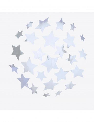 Stickers boule à facette étoiles