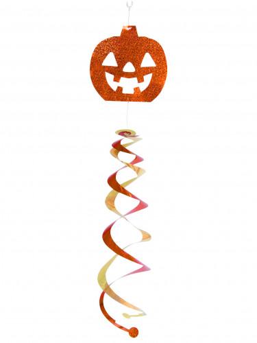 Décoration à suspendre tourbillon citrouille Halloween