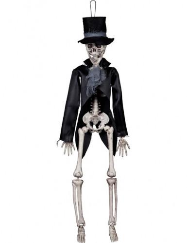 Squelette marié gothique Halloween 45 cm