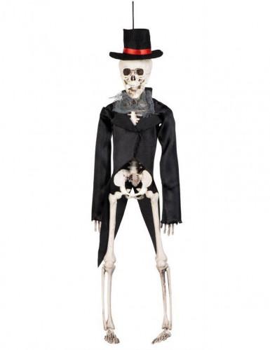 Squelette marié gothique Halloween 45 cm-1