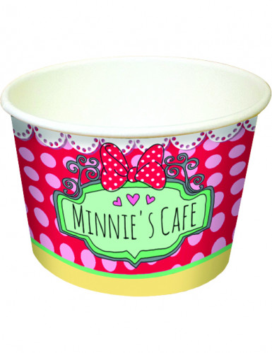 8 Coupelles carton Minnie café™