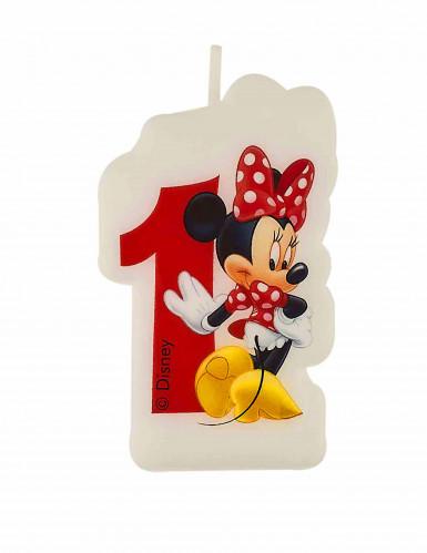 Bougie d'anniversaire 1 an Minnie café™