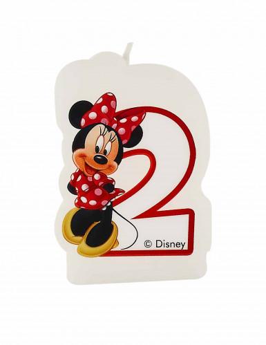 Bougie d'anniversaire 2 ans Minnie café™