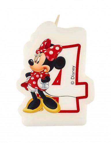 Bougie d'anniversaire 4 ans Minnie café™