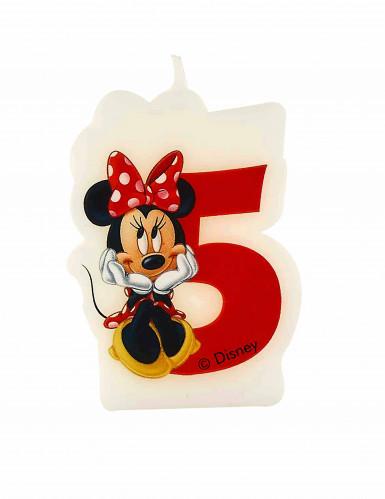 Bougie d'anniversaire 5 ans Minnie café™