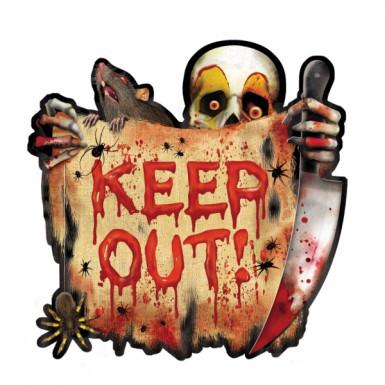 Cutout tête de mort halloween